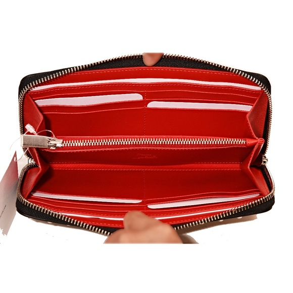 d38f402616c New Christian Louboutin Silver Panettone Wallet